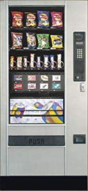 Торговый автомат по продаже штучного товара (снек) Automatic Products SL5