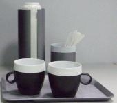Комплект офисной одноразовой посуды Prestigo